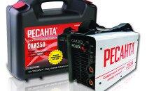 Особенности сварочных аппаратов Ресанта САИ-250